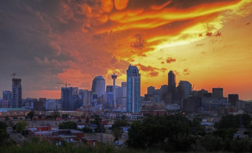Downtown-Panorama-HDR