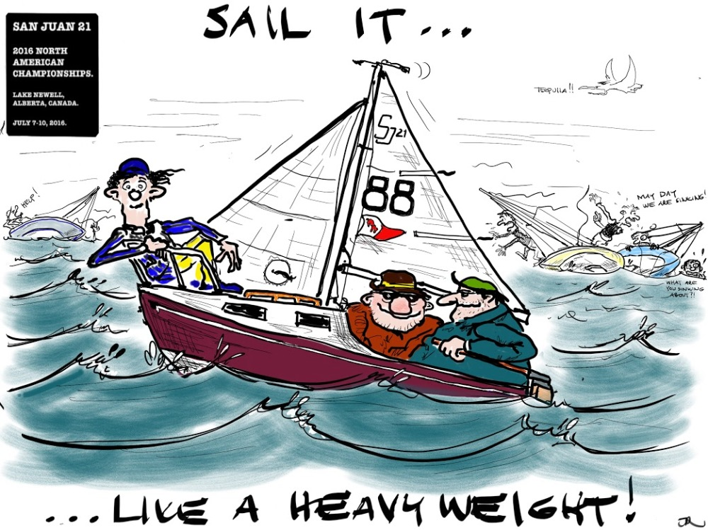 3 Sail It Like a HeavyWeight